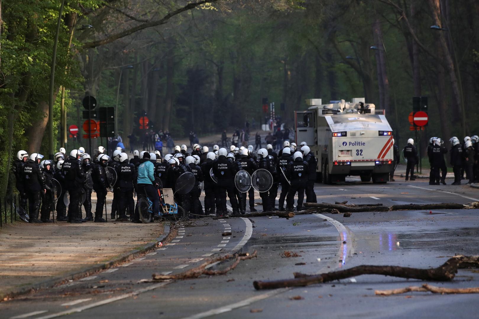 بلجيكا..اعتقال 132 شخصا شاركوا في حفلة احتجاجا على قيود كورونا