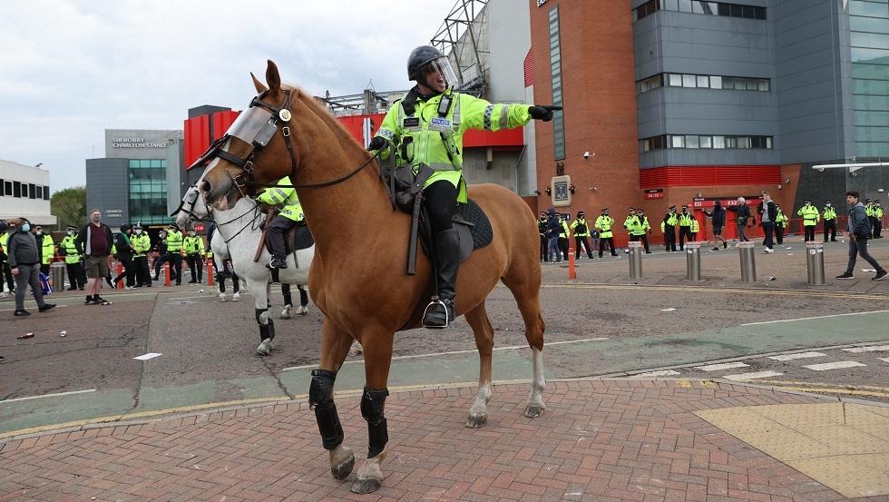 رسميا.. تأجيل مباراة مانشستر يونايتد وليفربول لأسباب أمنية ...