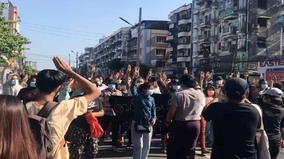 وسائل إعلام: 8 قتلى في تظاهرات ضد الحكم العسكري في ميانمار