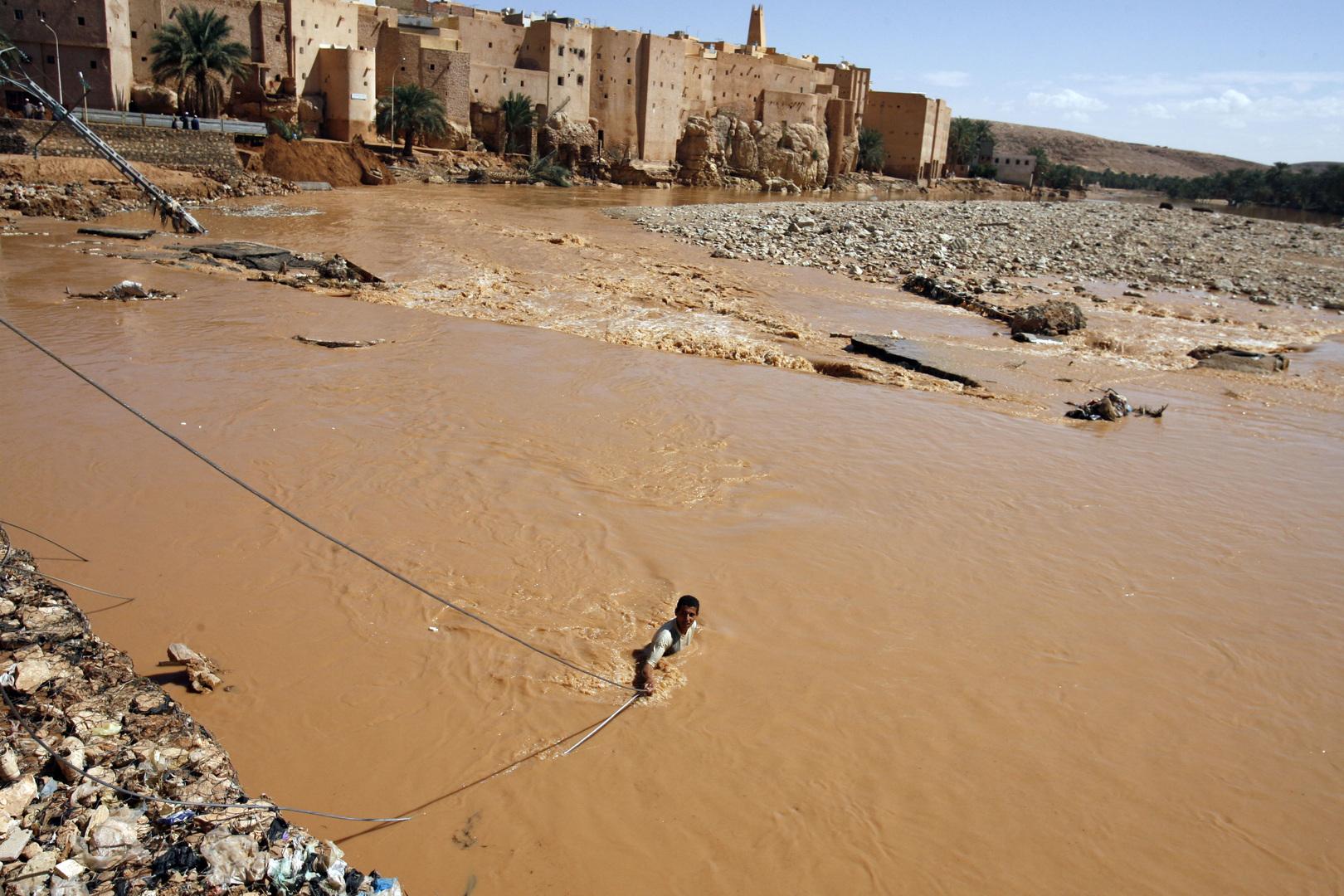 فيضان في الجزائر