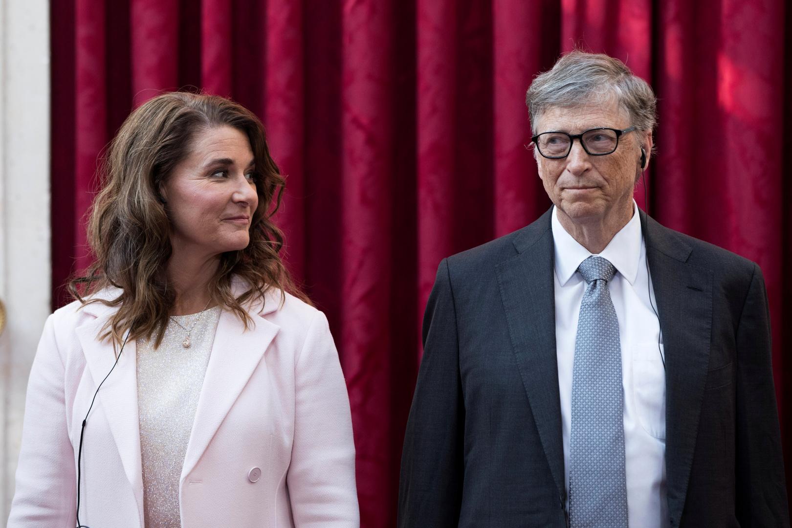 بيل ومليندا غيتس يعلنان نيتهما الطلاق