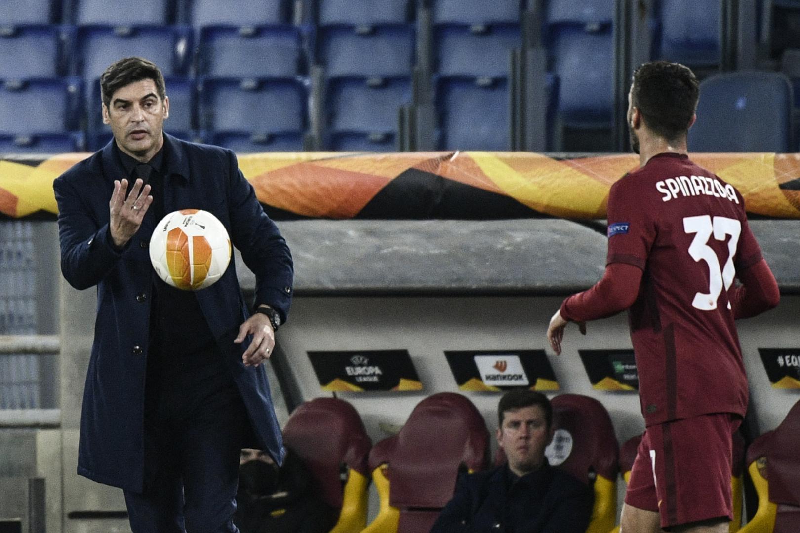 روما الإيطالي ينفصل عن مدربه فونسيكا
