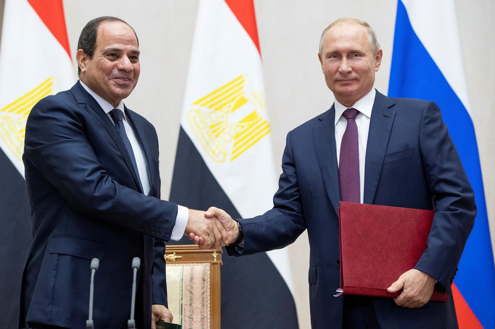 السفير المصري لدى موسكو: عقد الجلسة الثانية لفريق العمل الروسي المصري لمكافحة الإرهاب في مايو