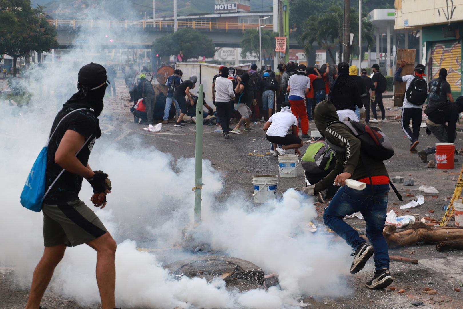 الأمم المتحدة تدين قمع الاحتجاجات في كولومبيا