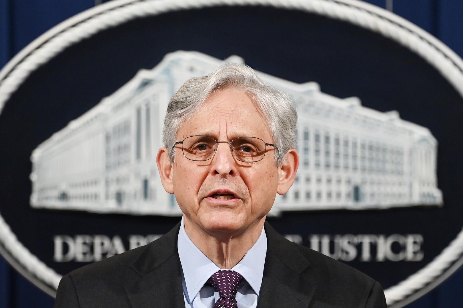 وزير العدل الأمريكي: زيادة الإرهاب الداخلي في الولايات المتحدة
