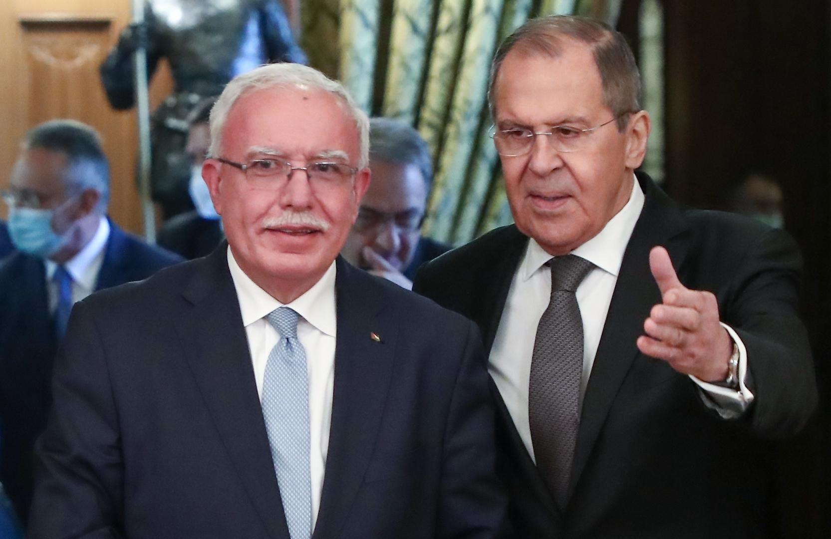 لافروف: التطبيع بين إسرائيل ودول عربية يجب ألا يهمش القضية الفلسطينية