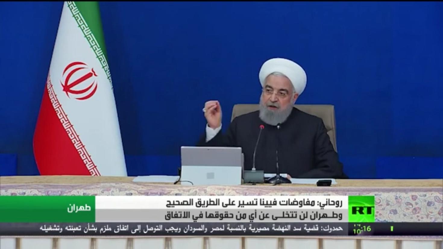روحاني: محادثات فيينا تسير على الطريق الصحيح