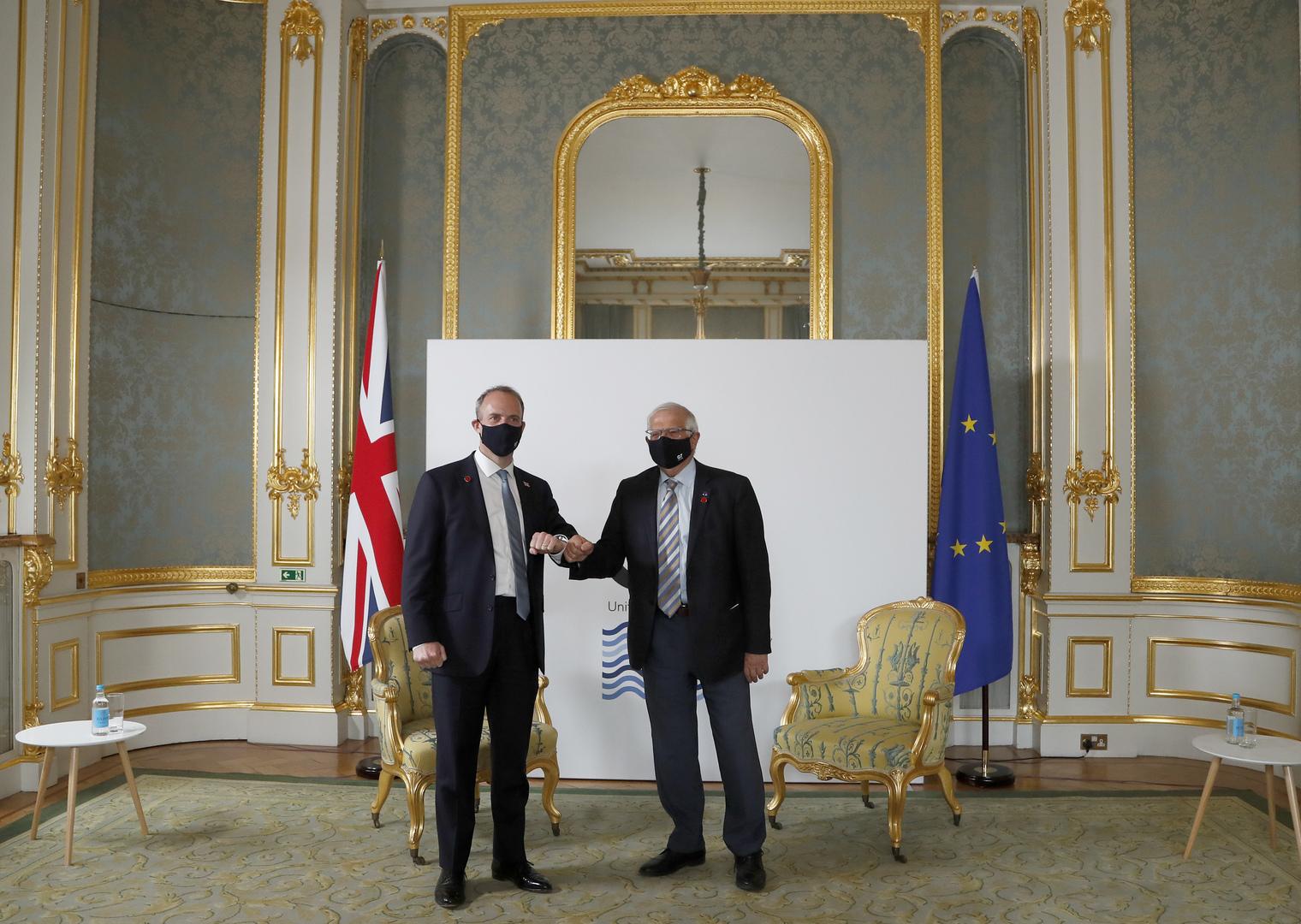 بريطانيا تمنح سفير الاتحاد الأوروبي وضعا دبلوماسيا كاملا