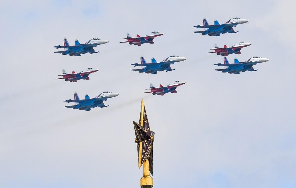روسيا.. 30 عاما على تأسيس فريق الاستعراض الجوي