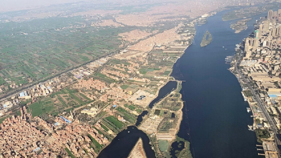 السفارة الأمريكية لدى مصر تنشر صورة للقاهرة والنيل من الفضاء