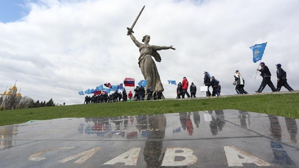 مدينة فولغوغراد الروسية - أرشيف