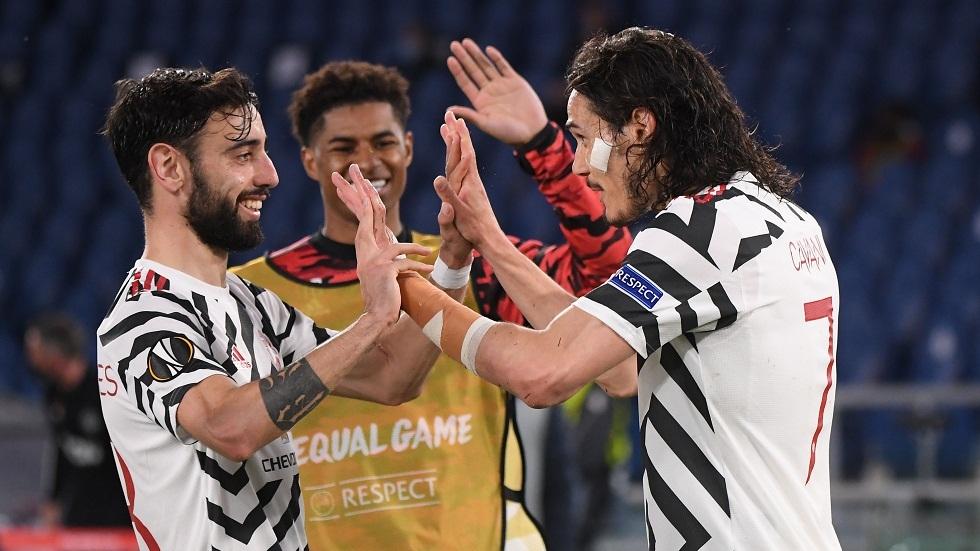 مانشستر يونايتد يقصي روما ويضرب موعدا مع فياريال في نهائي الدوري الأوروبي (فيديو)
