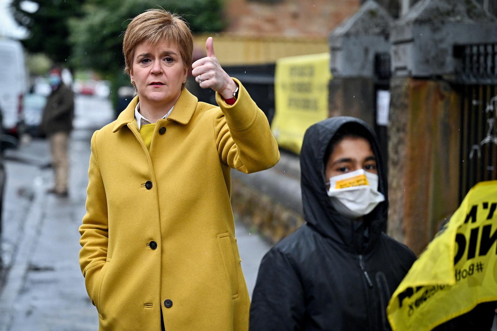 رئيسة وزراء اسكتلندا نيكولا ستورجيون