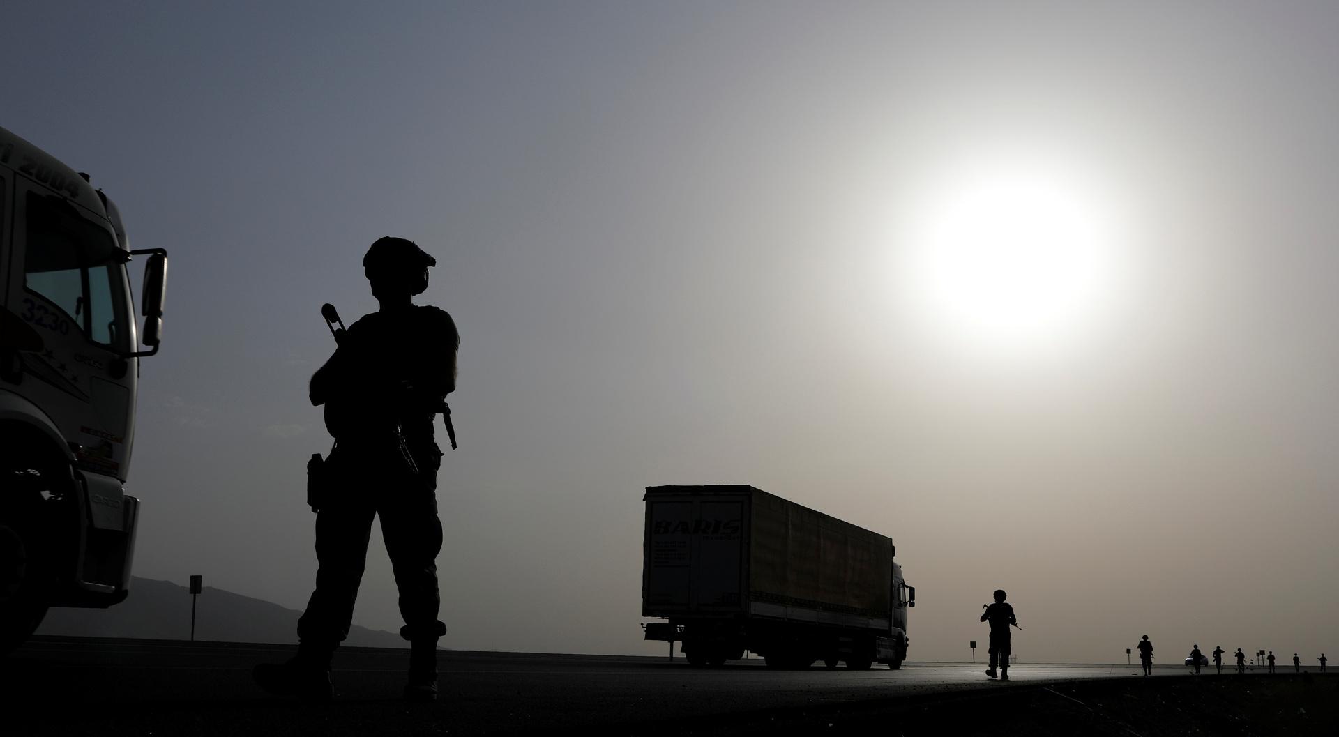 جنود أتراك قرب الحدود مع العراق، صورة تعبيرية من الأرشيف