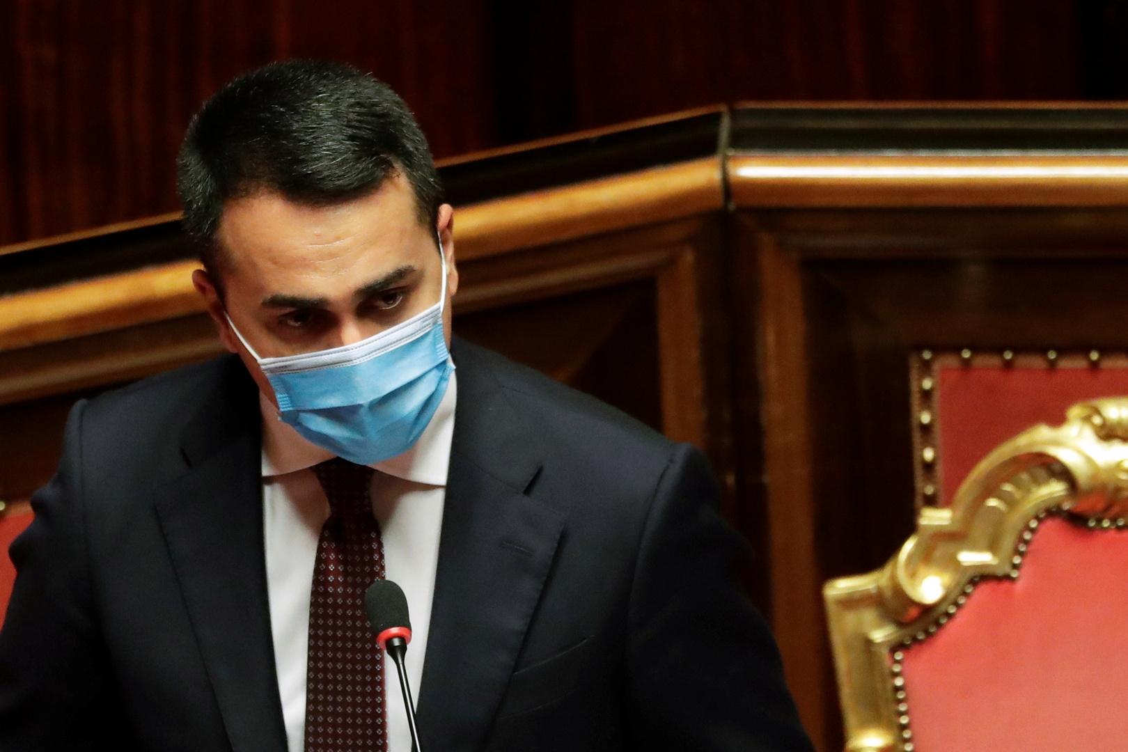 وزير الخارجية الايطالي، لويجي دي مايو