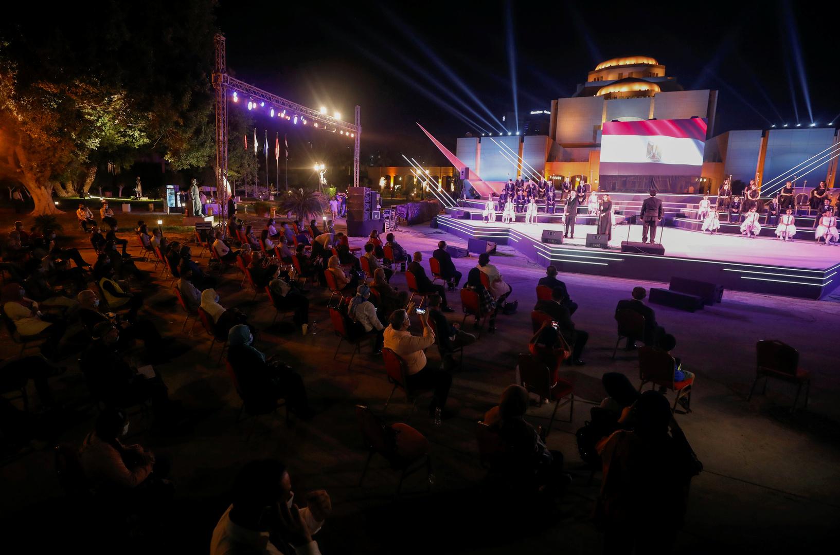 حفل في مصر