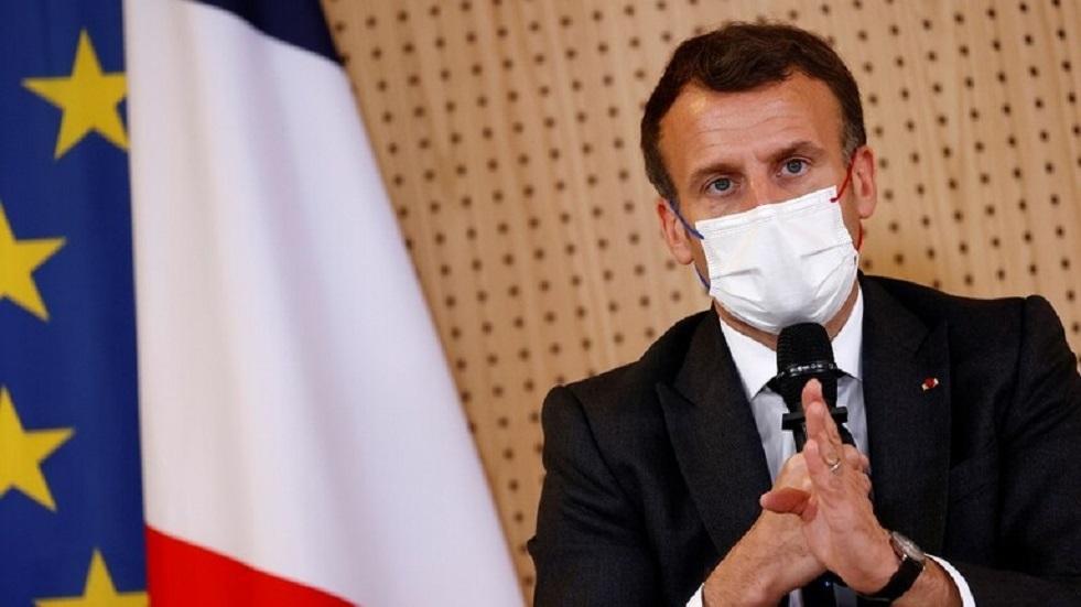 ماكرون: قمة الاتحاد الأوروبي المقبلة ستناقش روسيا والبريكست