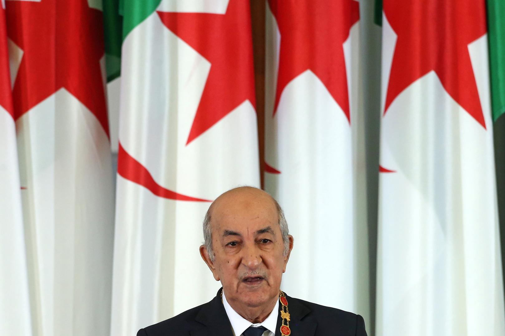 الرئيس الجزائري عبد المجيد تبون (صورة أرشيفية)