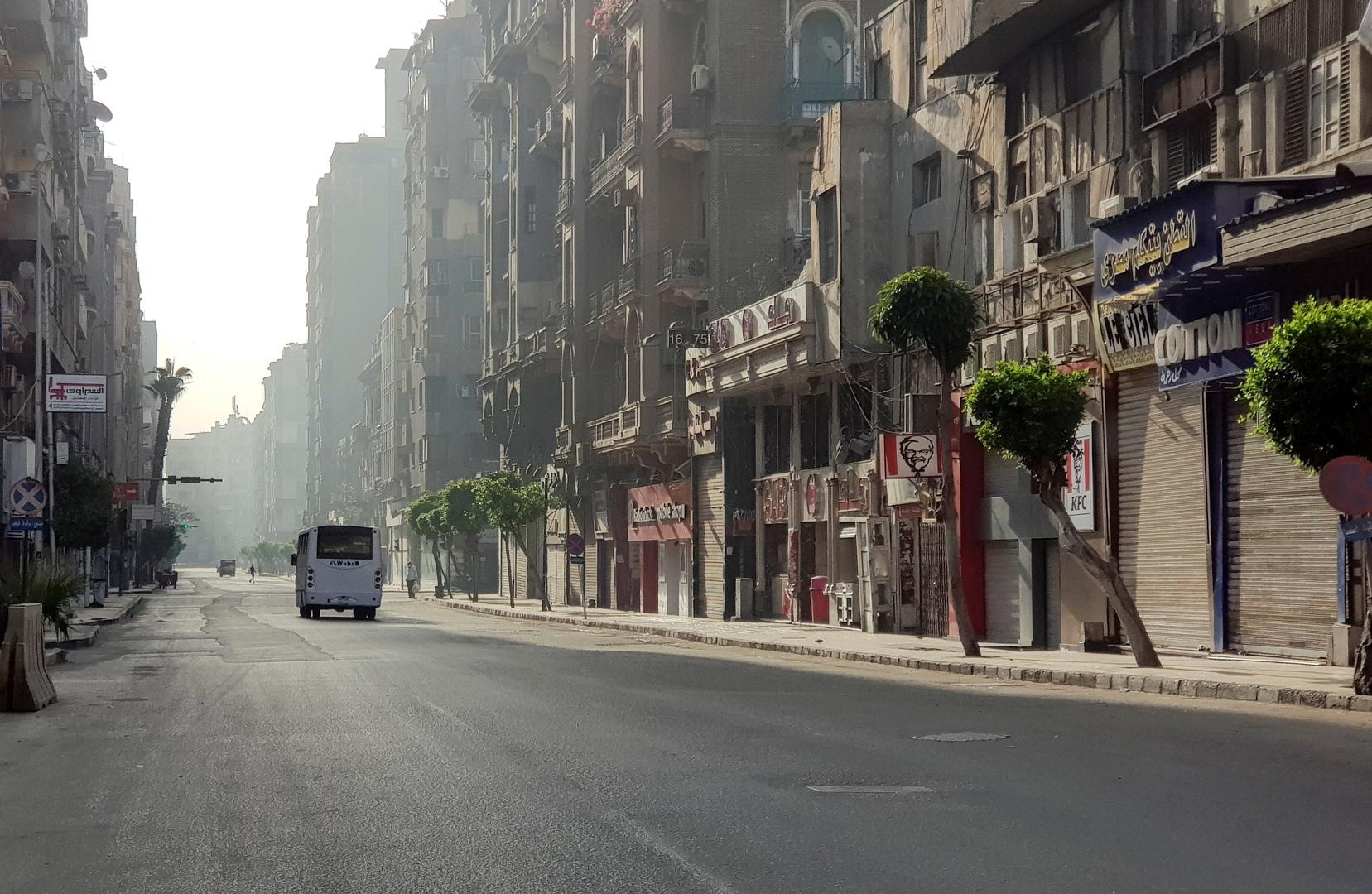 شارع في العاصمة المصرية القاهرة