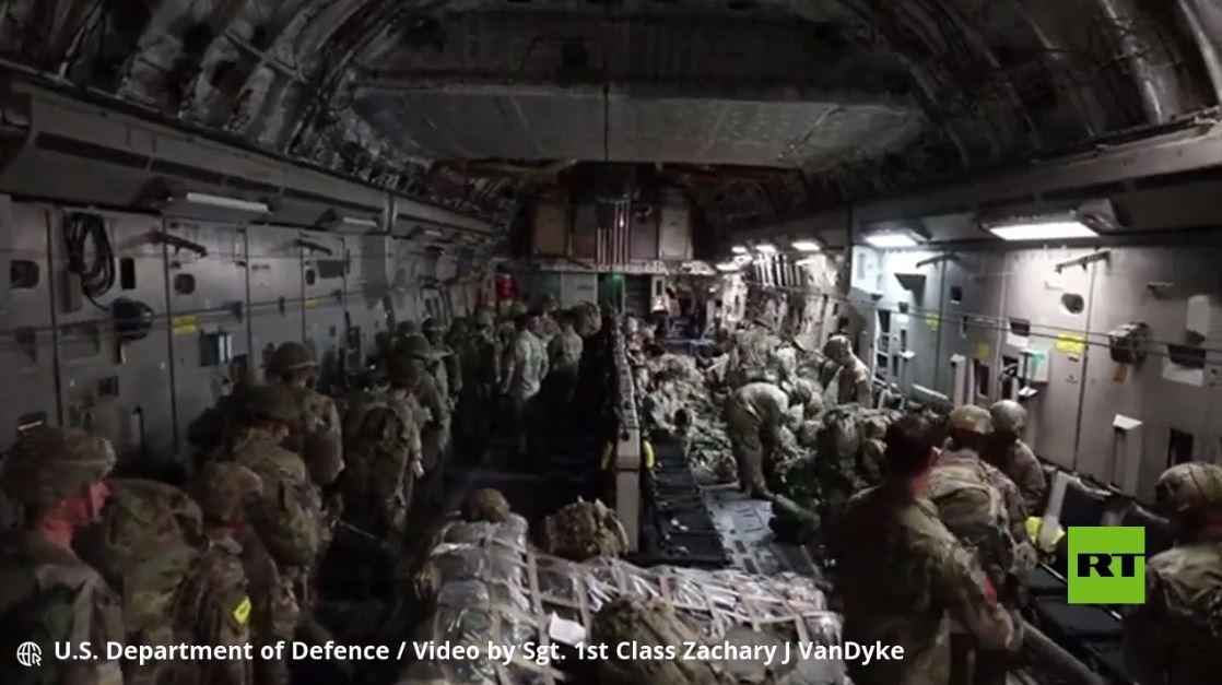 فيديو عملية الإنزال للجيش الأمريكي في إستونيا