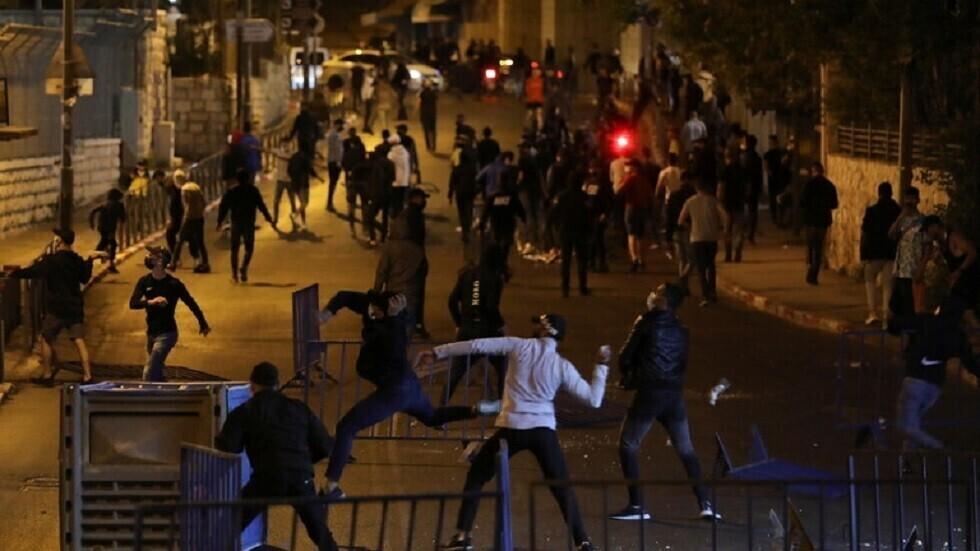 اشتباكات بين شبان فلسطينيين والشرطة الإسرائيلية- أرشيف