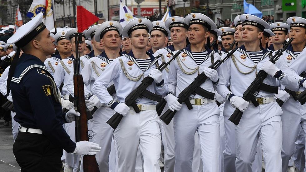 احتفالات عيد النصر في الشرق الروسي