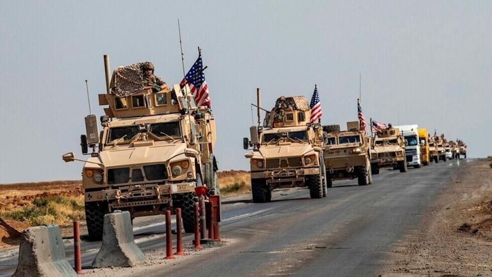 ثالث قافلة للتحالف الدولي خلال أسبوع تصل سوريا من كردستان العراق