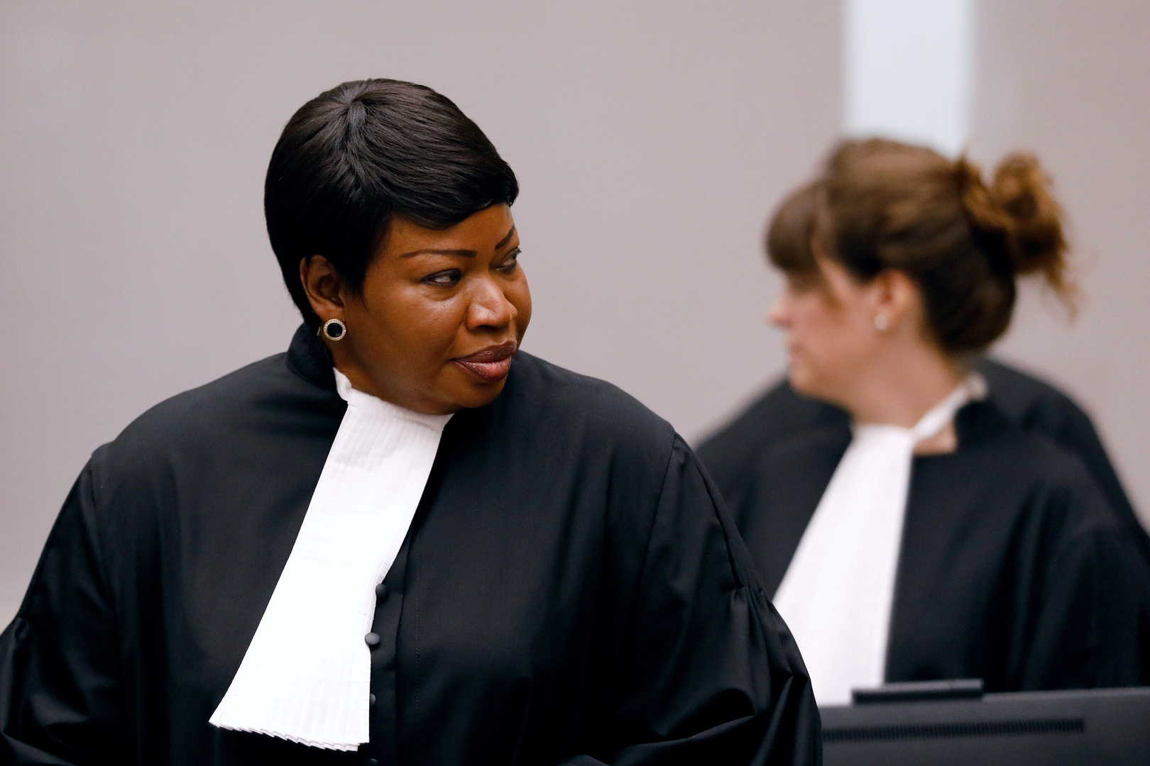 المدعية العامة للمحكمة الجنائية الدولية المنتهية ولايتها فاتو بنسودة