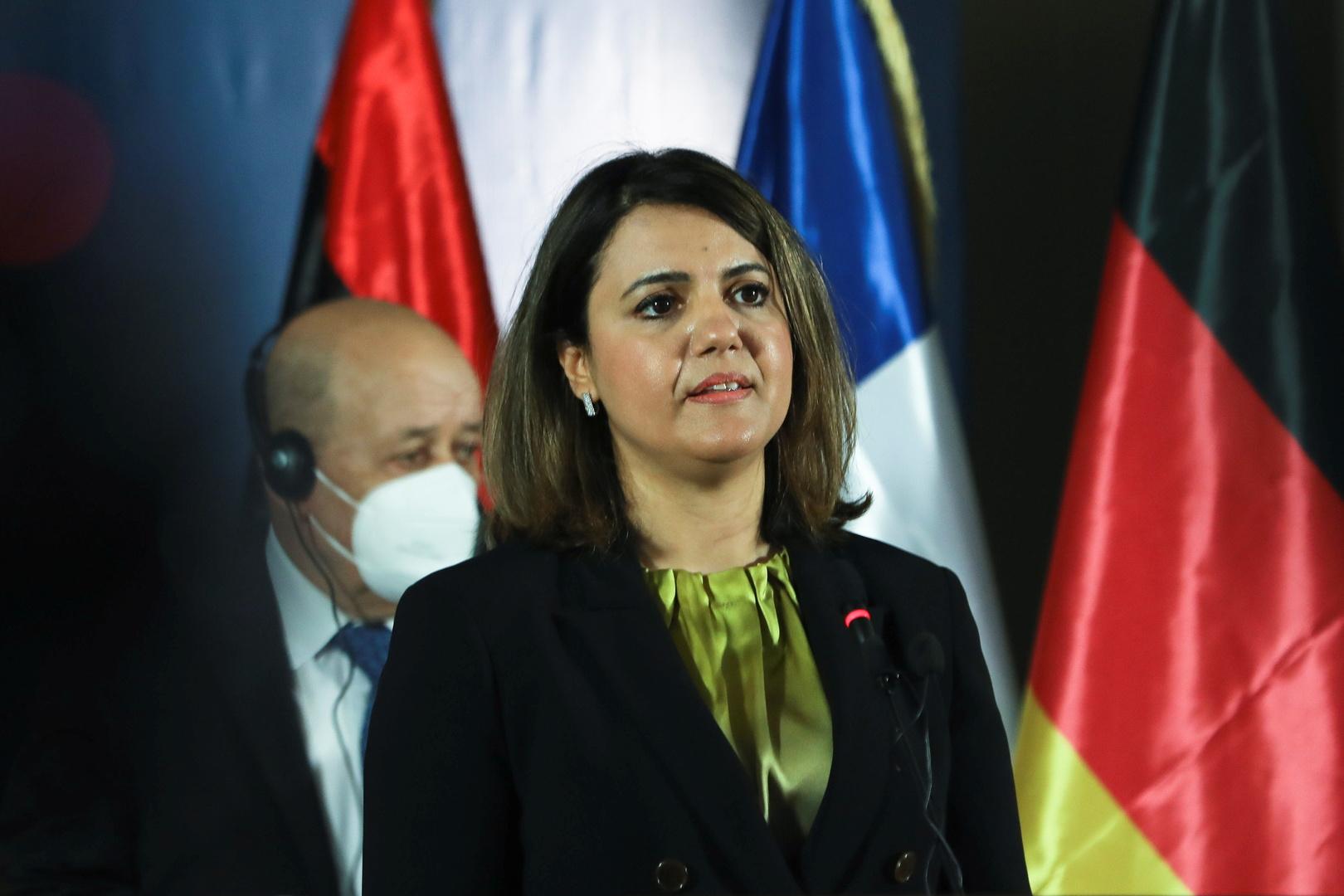 وزيرة الخارجية الليبية تجدد مطالبتها بضرورة خروج القوات الأجنبية والمرتزقة من بلادها