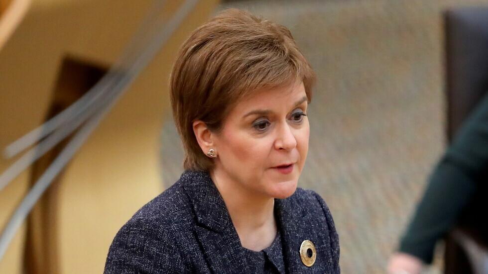 نيكولا ستيرجن زعيمة اسكتلندا