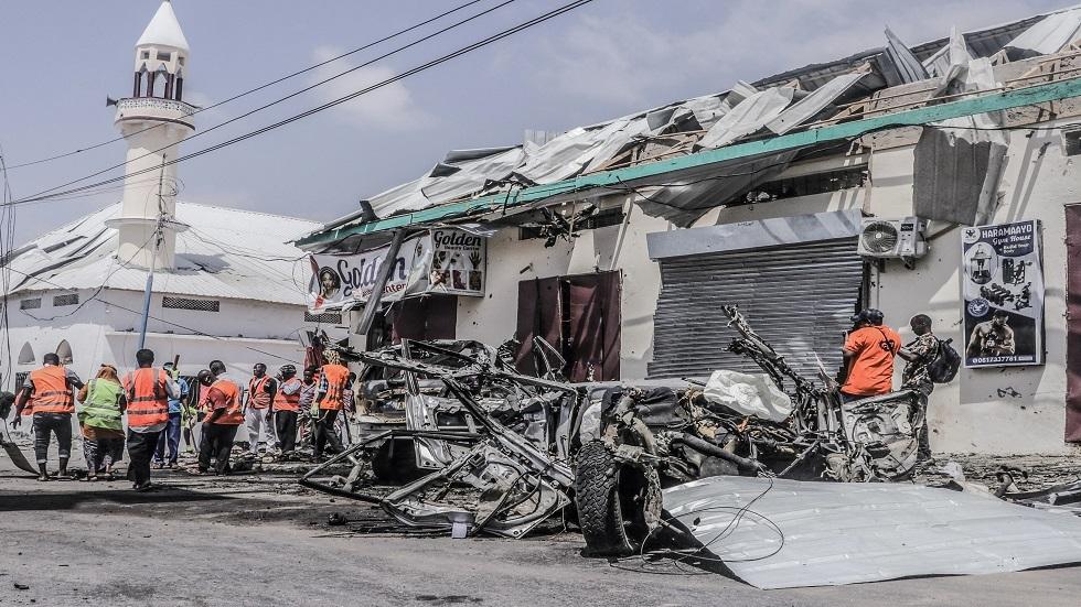 تفجير في العاصمة الصومالية مقديشو - أرشيف