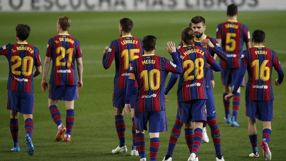 مدرب برشلونة يكشف قائمة اللاعبين لمواجهة ليفانتي