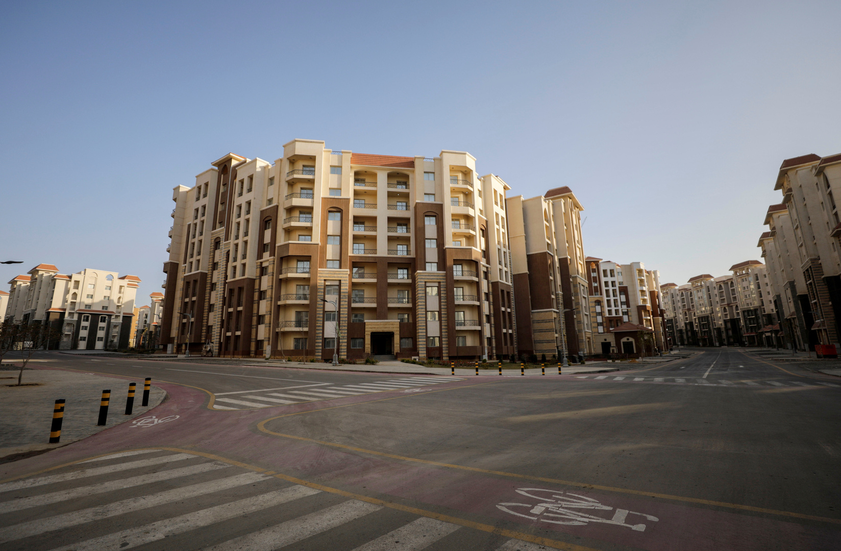 العاصمة الإدارية الجديدة لمصر، شرق القاهرة