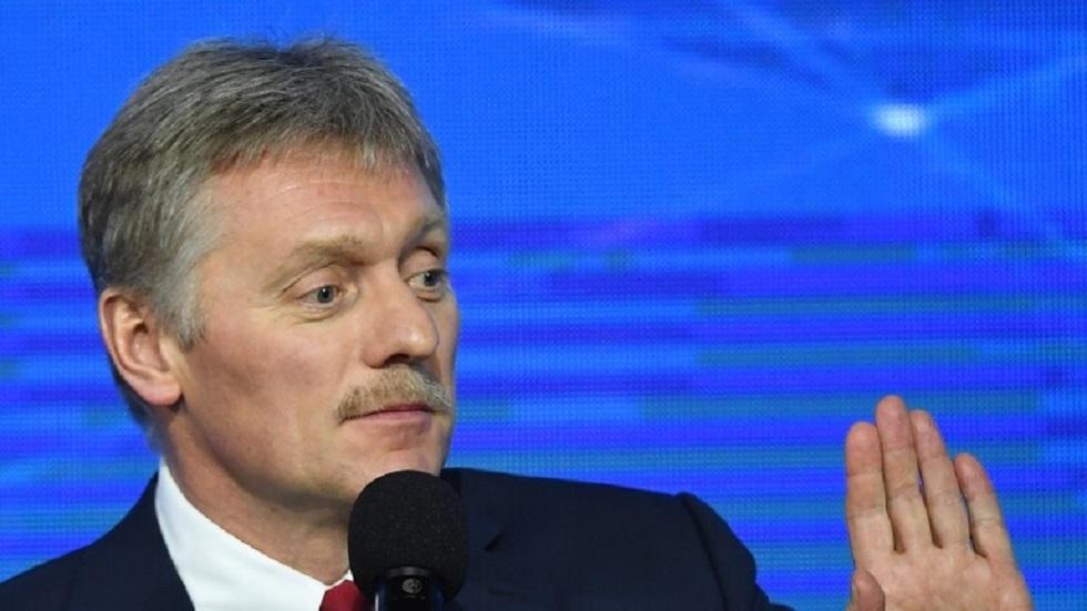 المتحدث الصحفي باسم الكرملين ديمتري بيسكوف