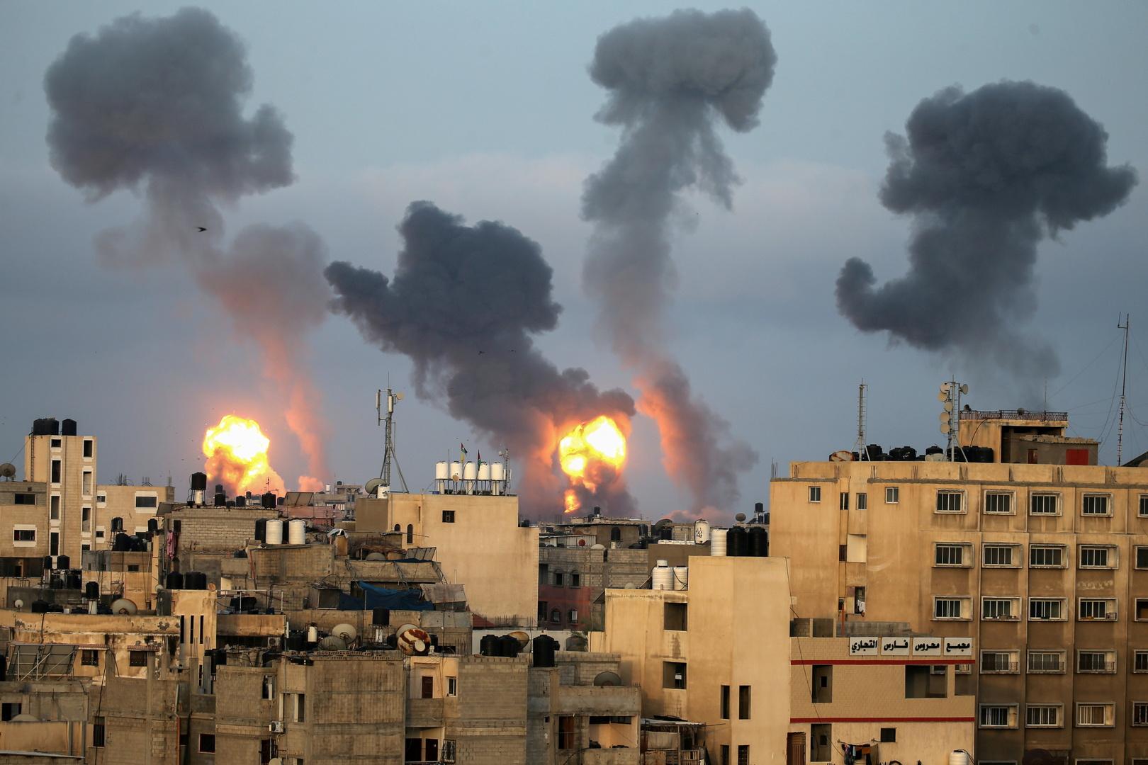 غارات إسرائيلية على قطاع غزة، 11 مايو 2021