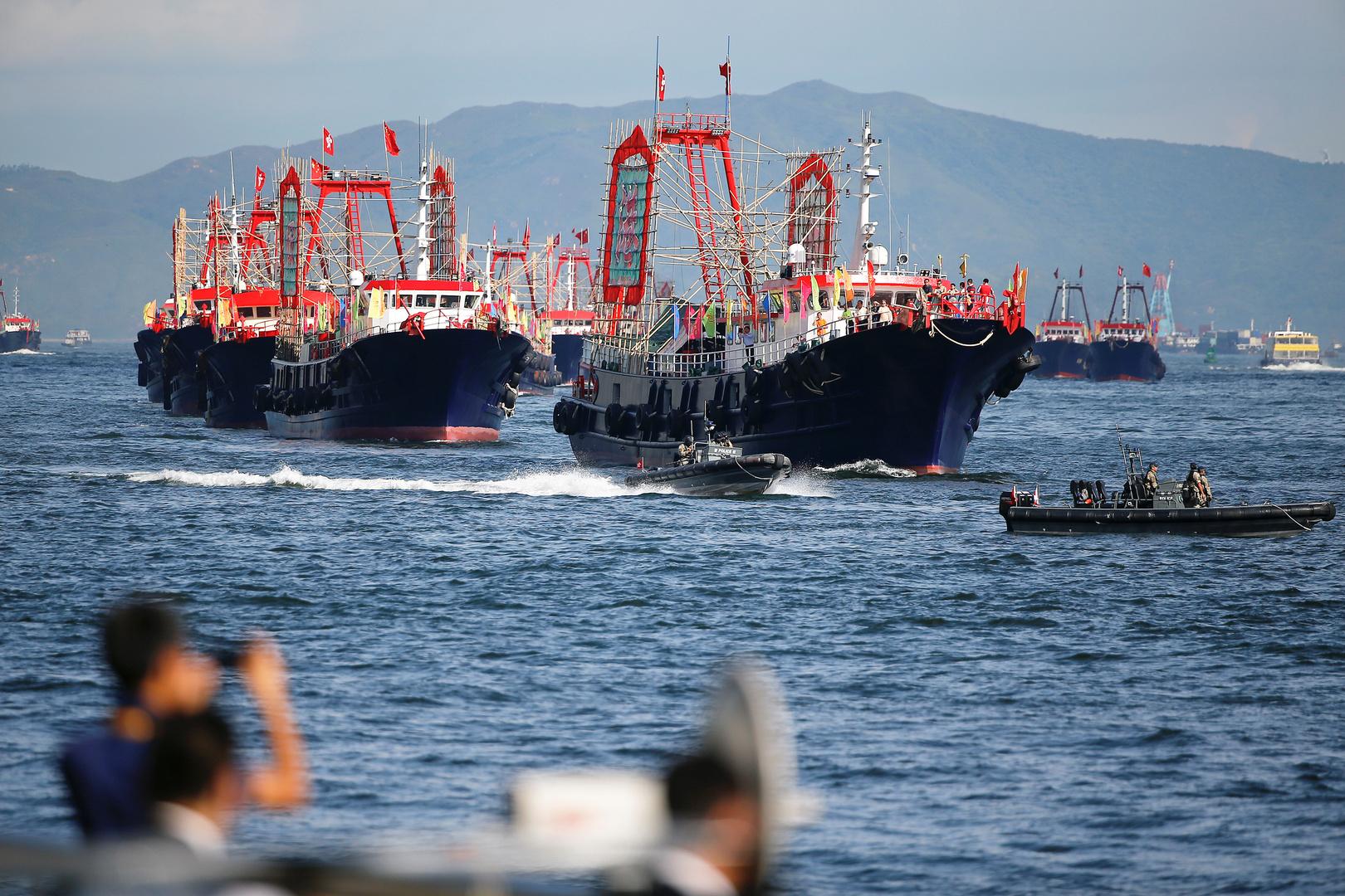 شركات بناء السفن الصينية تتقدم على منافساتها في كوريا الجنوبية