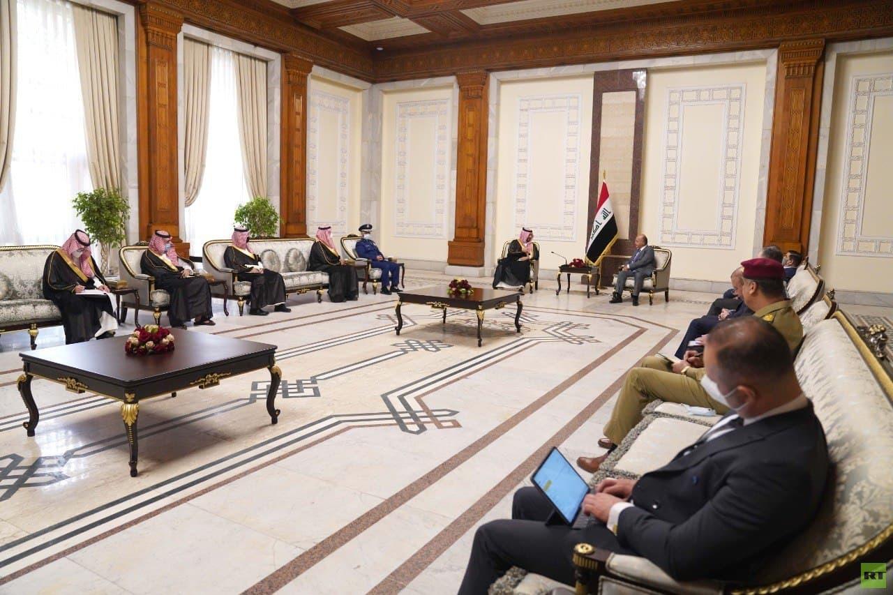 صالح وبن سلمان يؤكدان أهمية العراق في ترسيخ استقرار المنطقة