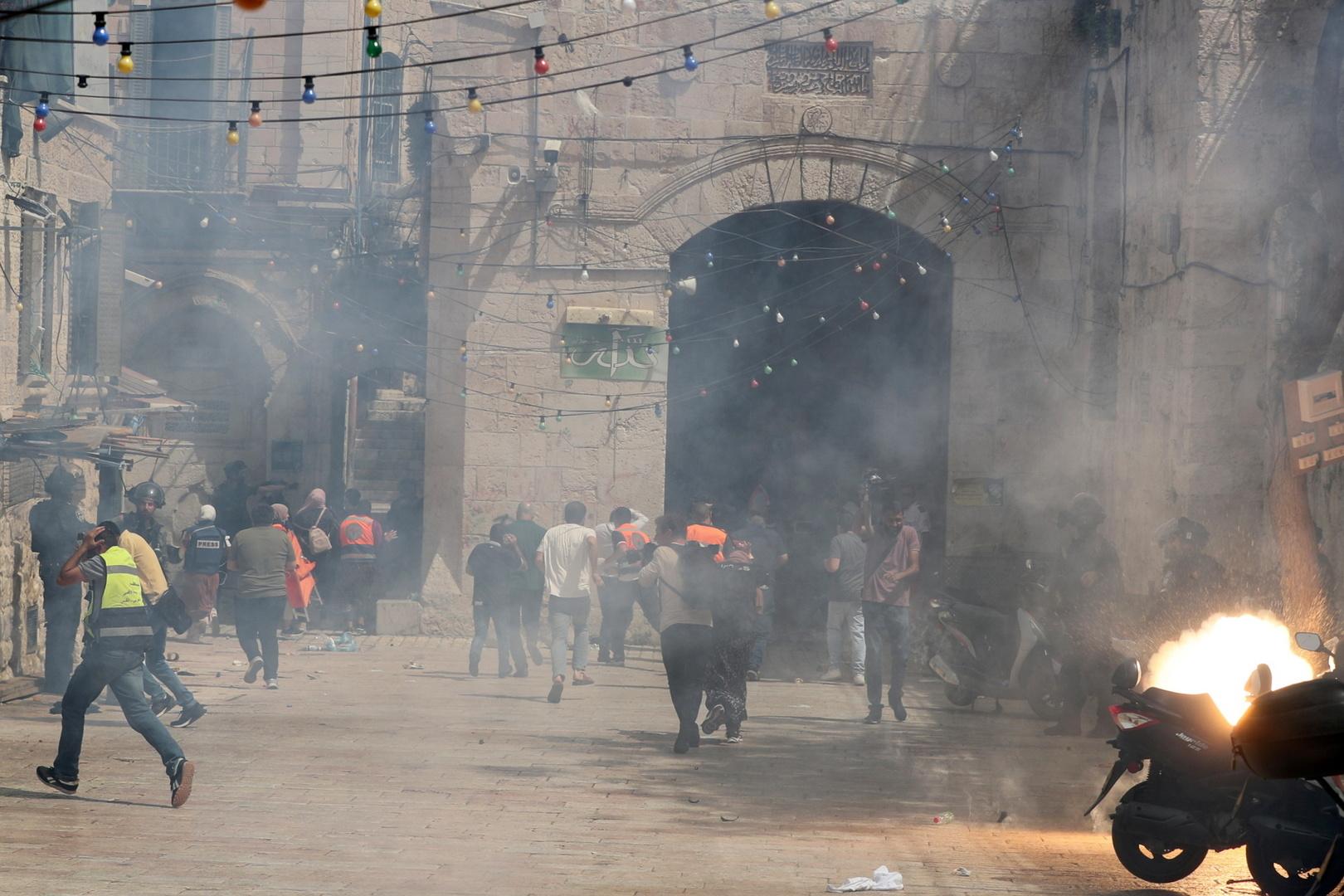 المواجهات في القدس الشرقية