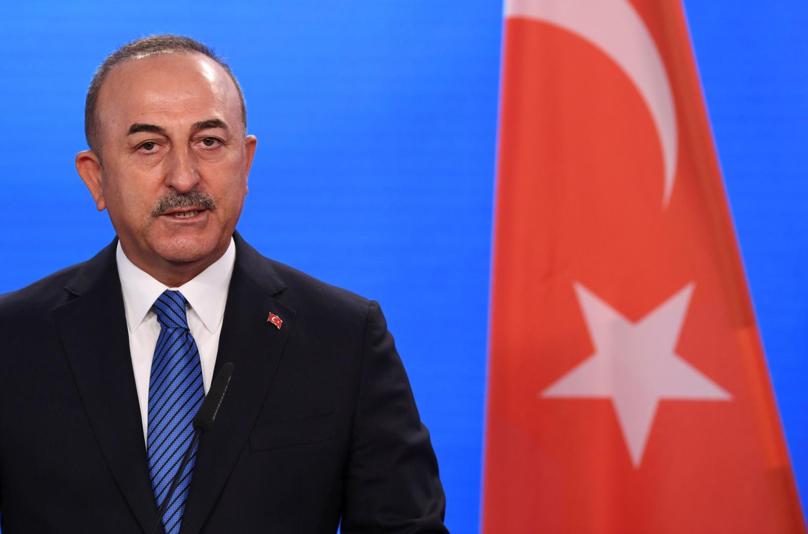 تشاووش أوغلو: تركيا تسعى لاستصدار قرار أممي