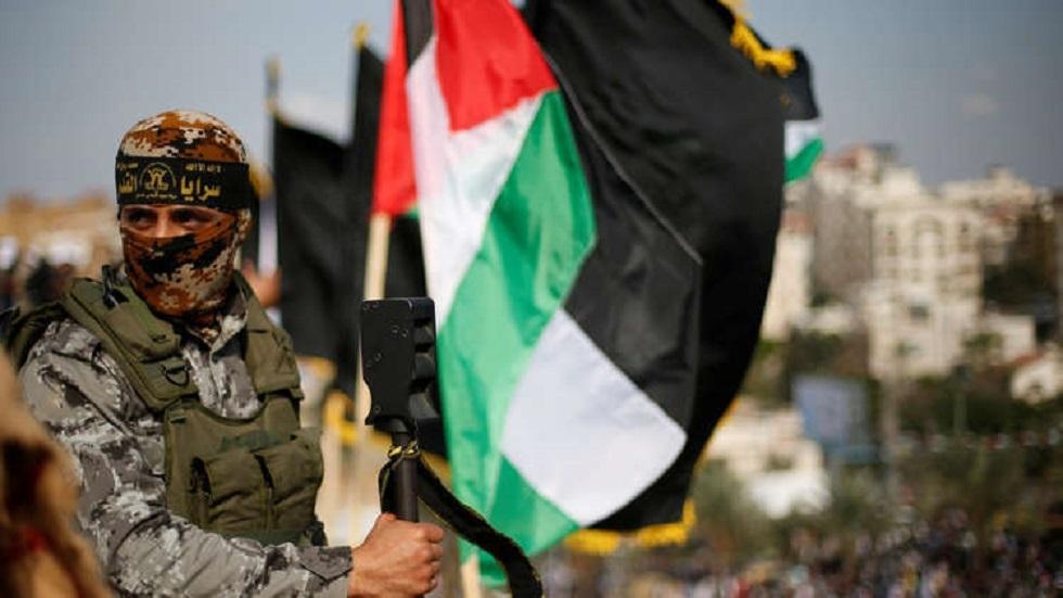 """""""سرايا القدس"""" الجناح العسكري لحركة """"الجهاد الإسلامي""""، صورة تعبيرية من الأرشيف"""