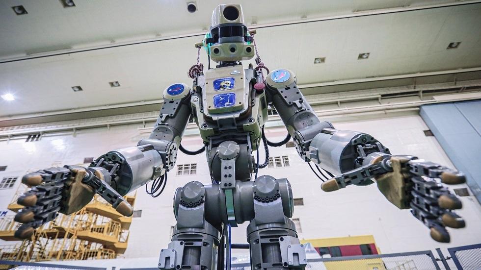 صورة أرشيفية لروبوت