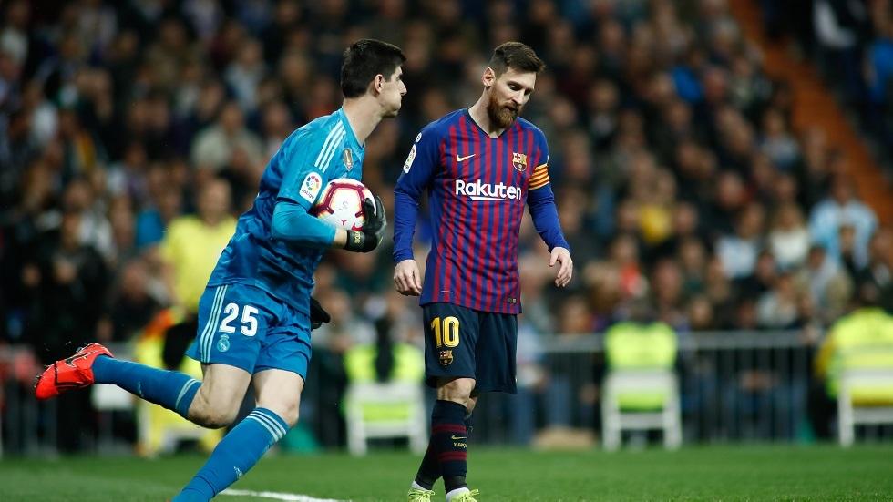 حارس ريال مدريد يقع في المحظور على غرار ميسي