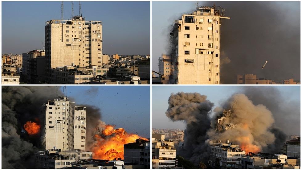 ارتفاع حصيلة ضحايا القصف الإسرائيلي لقطاع غزة