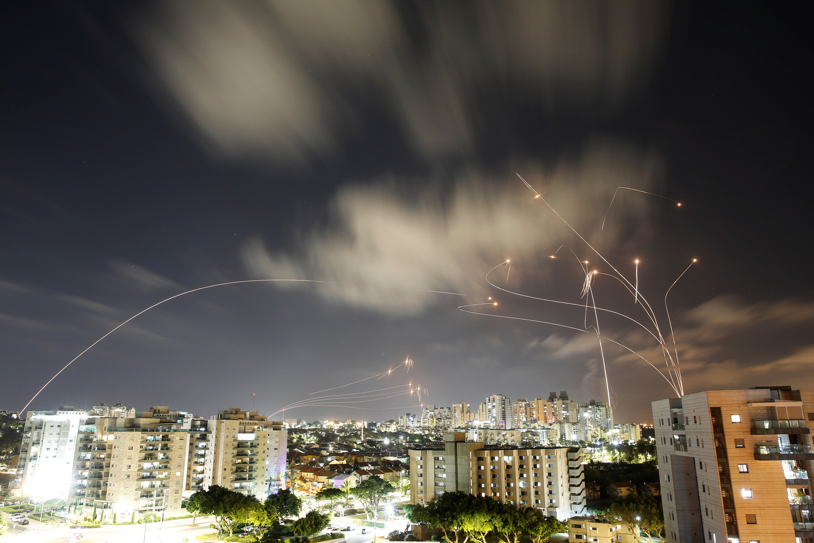 الجيش الإسرائيلي: إطلاق 1500 صاروخ من غزة منذ بدء التصعيد