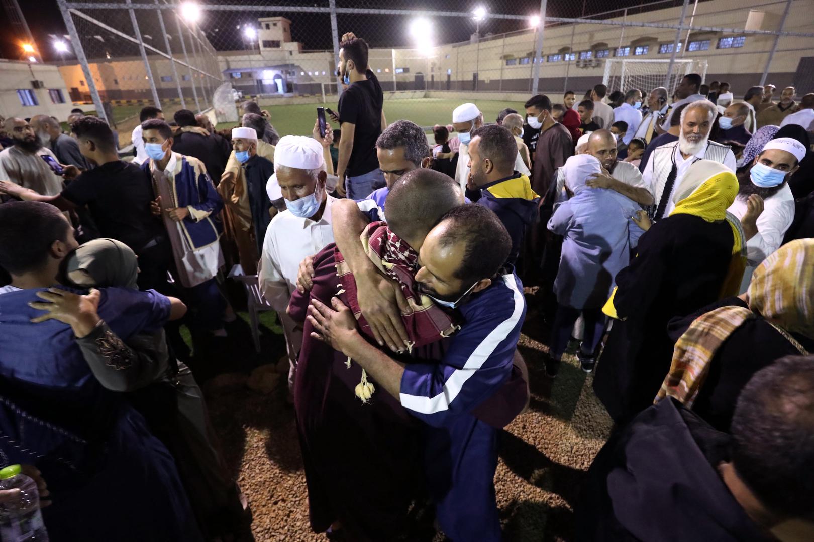 ليبيا.. إطلاق سراح 78 سجينا من