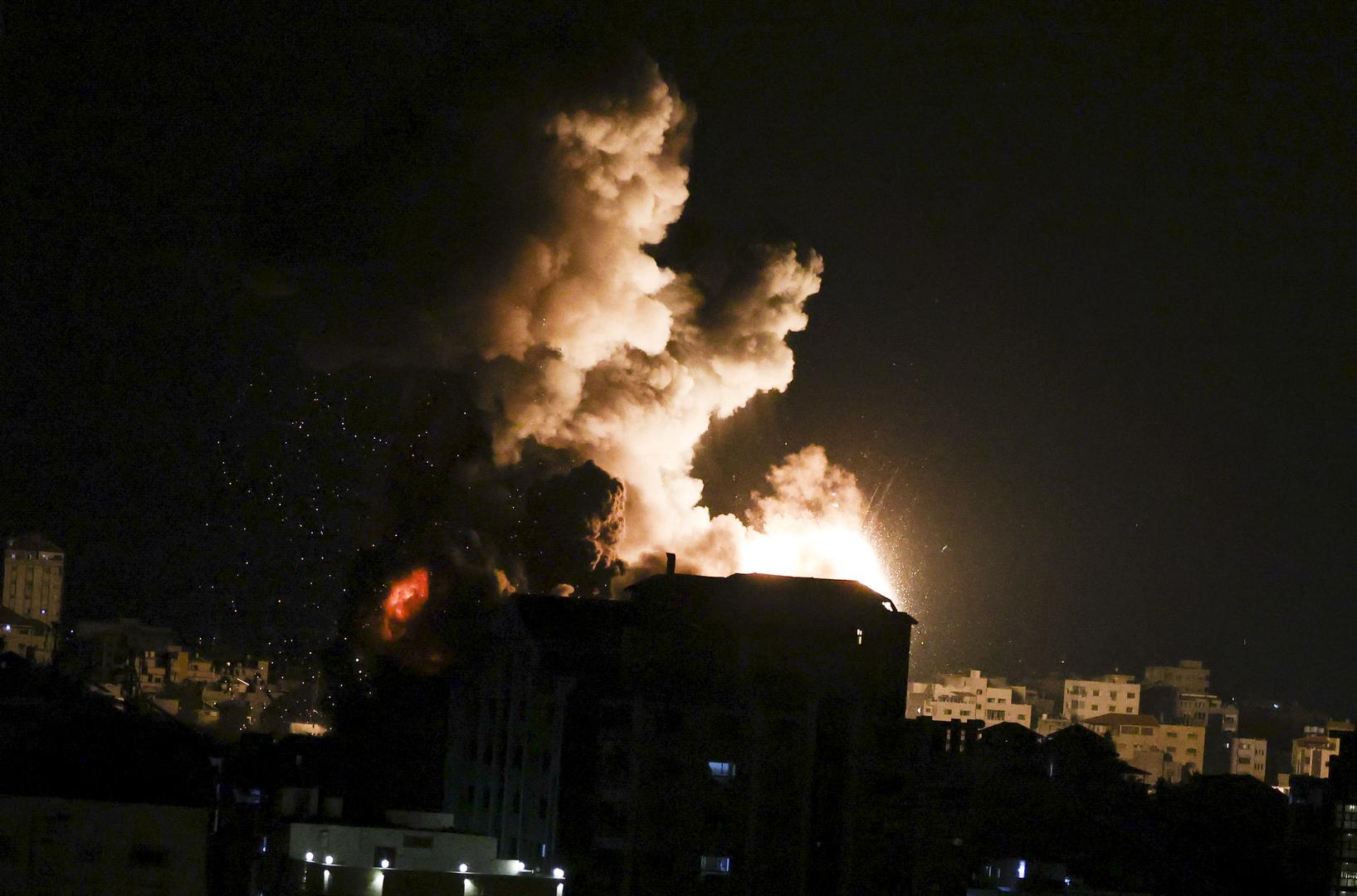 ارتفاع عدد القتلى نتيجة الضربات الإسرائيلية على غزة إلى 83 شخصا بينهم 17 طفلا