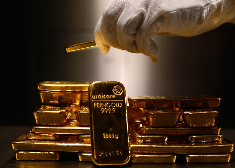 أسعار الذهب تصعد بعد بلوغ التضخم مستويات قياسية في الولايات المتحدة