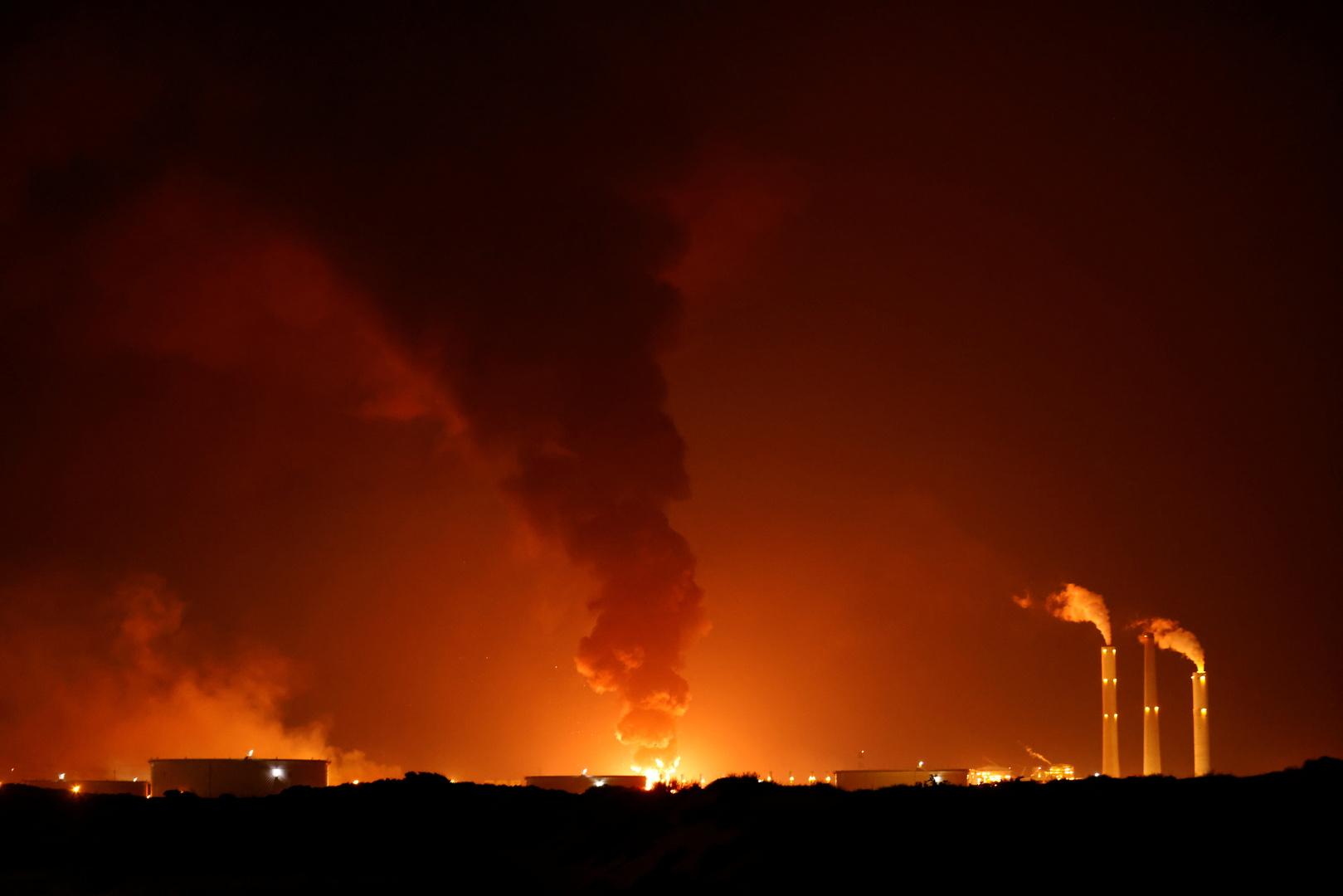 الجيش الإسرائيلي يعلن قصف مكاتب استخبارات