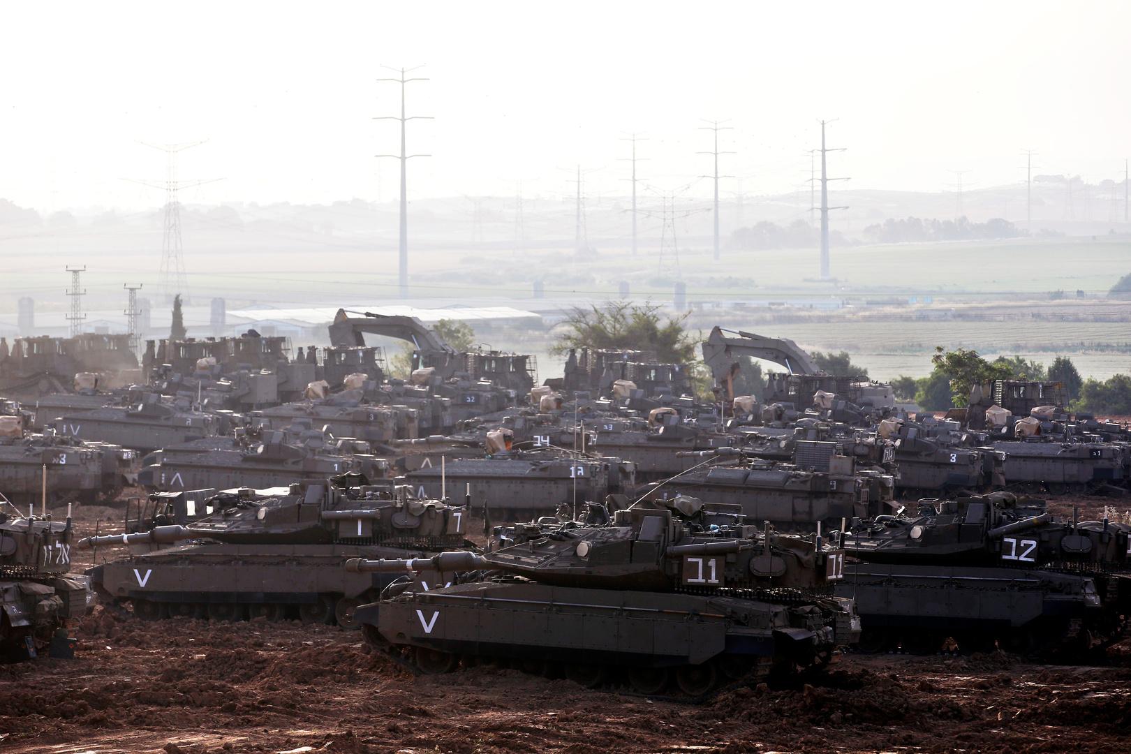 الجيش الإسرائيلي يتبنى اليوم خططا للتدخل البري في غزة