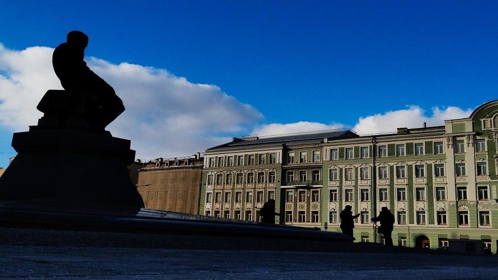 تمثال فيودور دوستويفسكي في موسكو